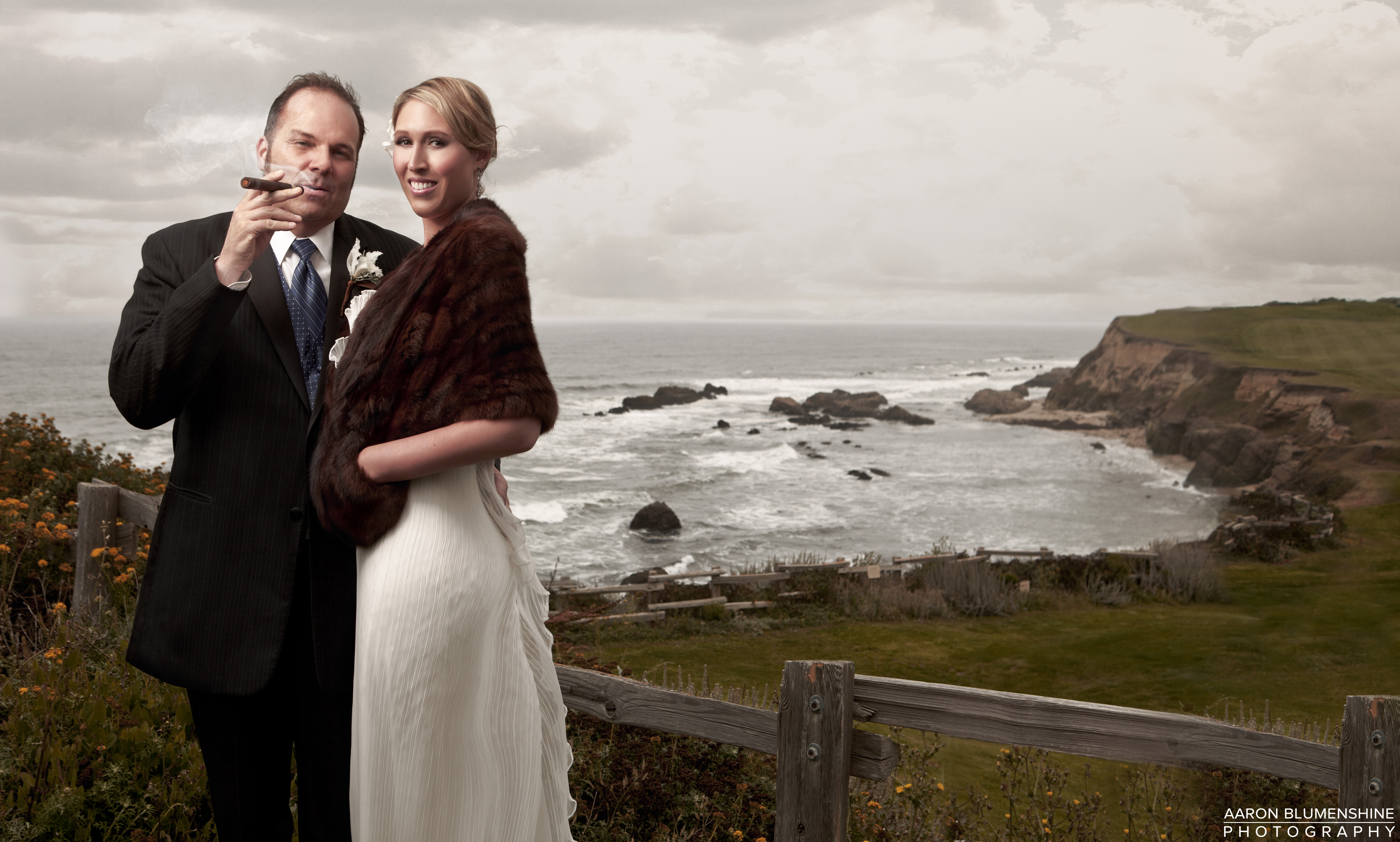 A Photograph From Wedding At The Ritz Carlton In Half Moon Bay